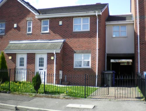 to let in New Moston